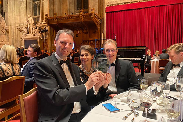 Ramsey Crookall has won the Wealth Management Award for the second year in a row.