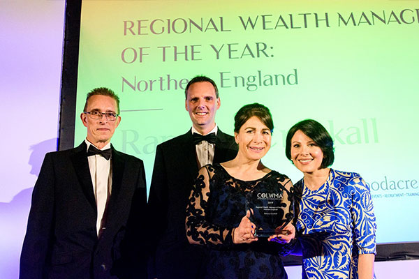 Wealth manager and stockbroker Ramsey Crookall has been awarded Best Wealth Manager of the Year 2019 for the North of England at a ceremony held at the Guildhall in London.